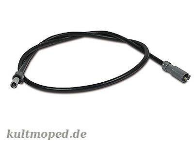 Speedo Cable with Clip (36 7/32in long) S53 Moped mokick Top NEW