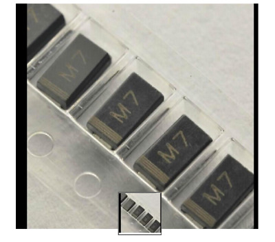 10X DIODI SMD 1N4007 4007   Rectifier Diode 1A 700V M7