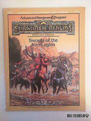 SWORDS OF THE IRON LEGION Forgotten Realms Advanced Dungeons & Dragons I14