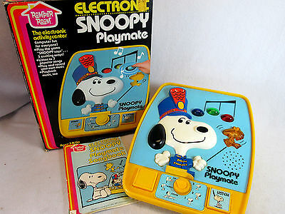 Vintage 1980 Hasbro Romper Room Electronic Snoopy Playmate no. 830 (works)