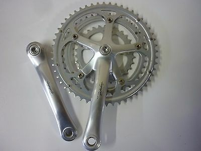 PEDALIER CAMPAGNOLO VELOCE TRIPLE 170mm 52/42/30 CHAINSET *VGC*