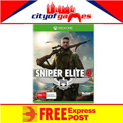 Sniper Elite 4 Xbox One New & Sealed Free Express Post In Stock