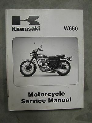 Kawasaki W650 '99-'00 Motorcycle Service Manual