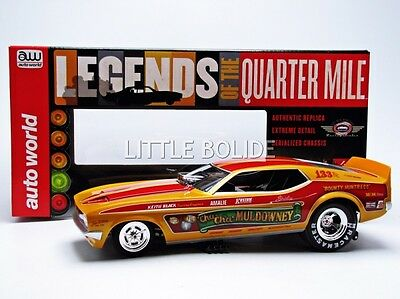 AUTO WORLD 1/18 FORD Mustang Funny Car - Cha Cha 1972 AW1113