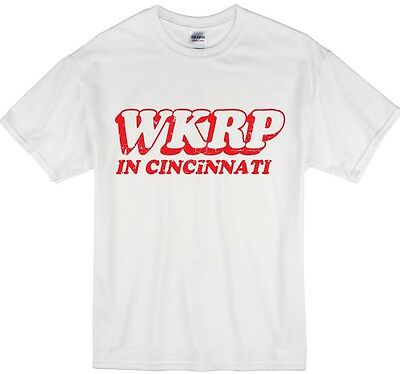 WKRP in Cincinnati Radio Tv Show T-shirt, Youth and Adult sizes Available!
