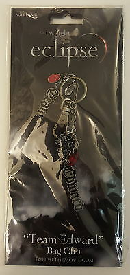 Twilight Eclipse Team Edward Bag Clip Neca Licenced NEW & SEALED