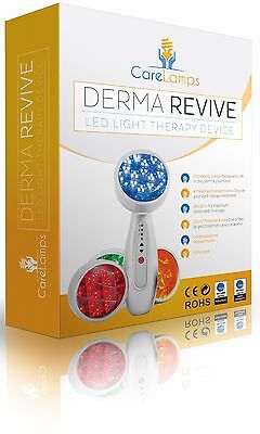 LED Derma Revive: Anti Aging, Anti Acne, Boost Collagen, Remove Wrinkles