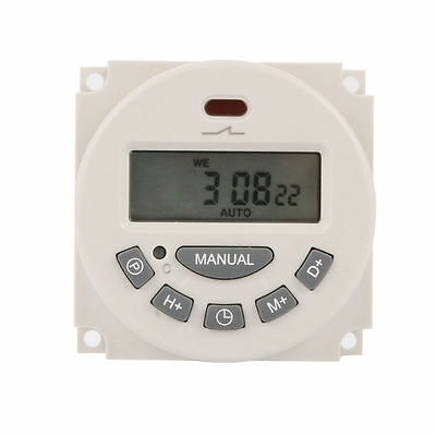Digital LCD Programmable Timer Clock Switch DC 12V 16A Time Relay Counter TH281