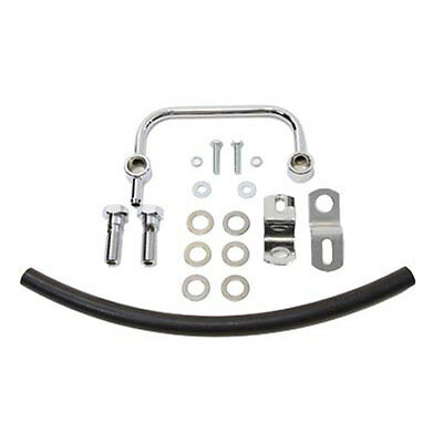 V-Twin Chrome Breather Manifold Kit for 1991-2017 Harley Sportster XL