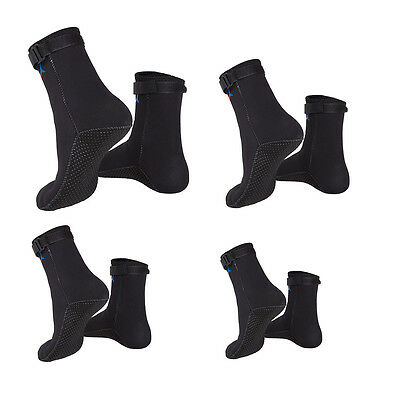 1 Pair 3mm Neoprene Swimming Diving Socks Snorkeling Water Sports Boots