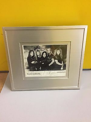 Iron Maiden 100% Fan Club Signed Photo