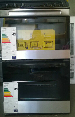 Zanussi ZCV46330XA Electric Double Oven In Stainless Steel