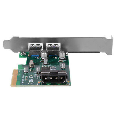 2 Ports PCIE to USB 3.1 Connector Expand Type A Expansion Host Carte AC476