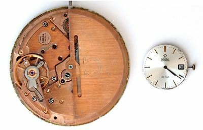 OMEGA cal. 1012 original automatic watch movement working (4786)