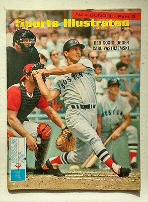 SPORTS ILLUSTRATED. August 21, 1967. RED SOX SLUGGER CARL YASTRZEMSKI