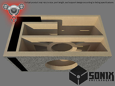 Stage 2 - Ported Subwoofer Mdf Enclosure For Orion Hcca15 Sub Box
