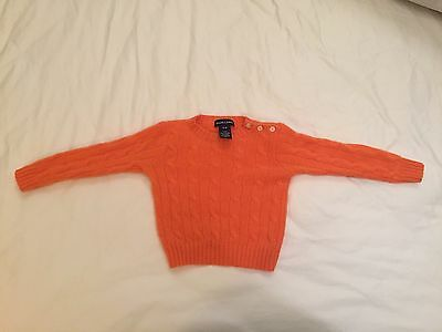 Polo Ralph Lauren Cashmere Sweater Size 9 Month Toddler Retails For About $225
