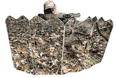 Ground Blind Ghost Hunting Gear for Deer Turkey Bow Rifle Camouflage Rapper