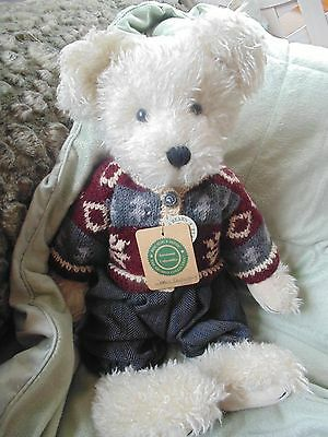 """BOYDS 1998 QVC EXCLUSIVE BEAR JARVIS BOYDSENBERRY 16"""" Very Gently Used"""