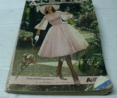 Aldens Catalog Spring Summer 1960 Clothes Dress Purses Shoes Vintage Fashion