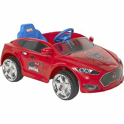 NEW Spider-Man Spiderman 6V Speed Electric Battery-Powered Coupe Ride-On