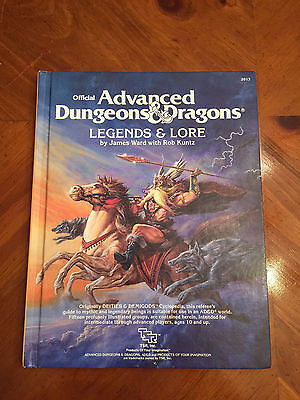 AD&D - Legends & Lore - TSR