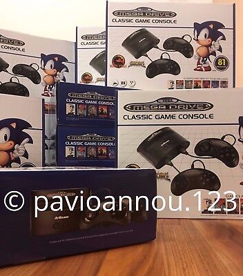 Sega Megadrive Classic Console with 80 Built-In Games **BRAND NEW**
