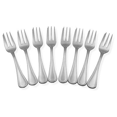 NEW Stanley Rogers Clarendon Pastry Fork Set 8pce