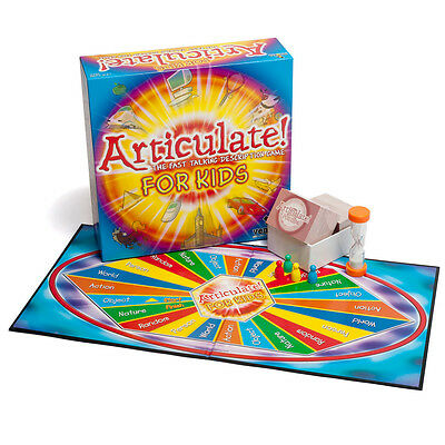 NEW Games Articulate! For Kids