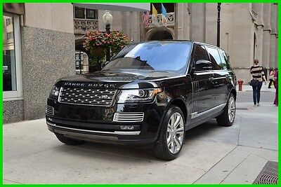 2016 Land Rover Range Rover SV Autobiography LWB 2016 Range Rover SV Autobiography LWB Call Roland Kantor 847-343-2721