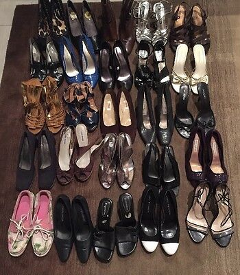 Large Lot 25~Ready For Resale Shoes Heels Designer Department Store Name Brand