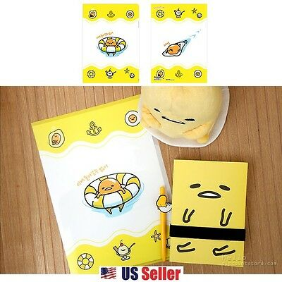 Sanrio Gudetama Lazy Egg School Office Layer File Folder : Swimming Gudetama
