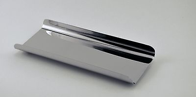 """Pen & Pencil Tray - Shiny Finish Stainless Steel - 8""""X3""""X0.75"""""""