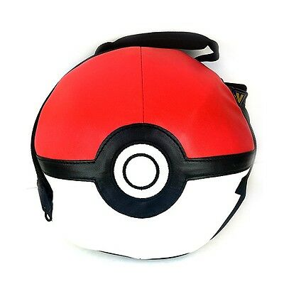 Pokemon 3D Dome Shpaed Insulated School Lunch Box Bag : Pokeball