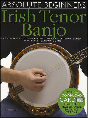 Absolute Beginners Irish Tenor Banjo TAB Book/WITHOUT Audio Download Card