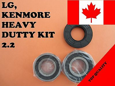FRONT LOAD WASHER,2 TUB BEARINGS AND SEAL, LG,Kenmore, KIT # 2.2 (4036er2004a)
