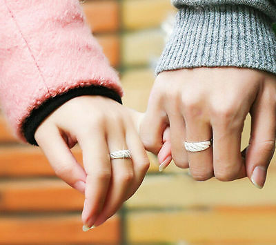 Lovers Gift Gold Plated Engagement Wedding Band Ring Sets Bride Groom Ring Sets