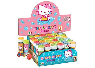 HELLO KITTY Kids BUBBLE TUBS Kids Party Bag Favors Birthday Gift New WAND + MAZE