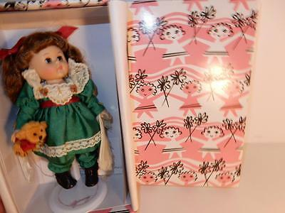 """Vogue Ginny Doll In Tagged Outfit In Pink Box 8"""" Happy 100Th Teddy Bear"""