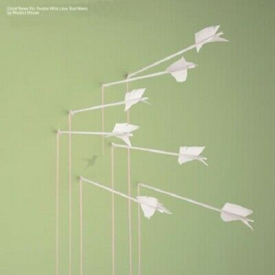 Modest Mouse Good News For People Who Love Bad News 180gm vinyl 2 LP NEW/SEALED