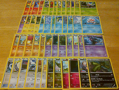 49 BREAKthrough Pokemon Cards Almost Complete Uncommon Common Set Lot Collection
