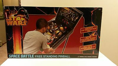 Star Wars Free Standing PinBall Machine Electronic Kids Game Room
