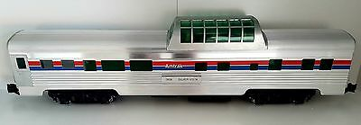 Extremely rare Aristocraft pair of streamline coaches in Amtrak livery