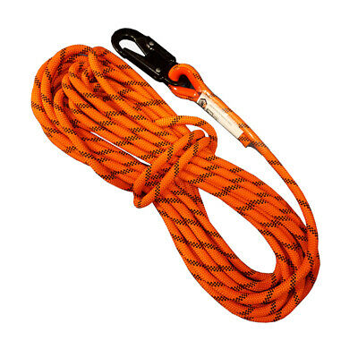 LINQ 12mm Kernmantle Rope Safety Line w/ Snap Hook ISGM | AUTHORISED DEALEAR
