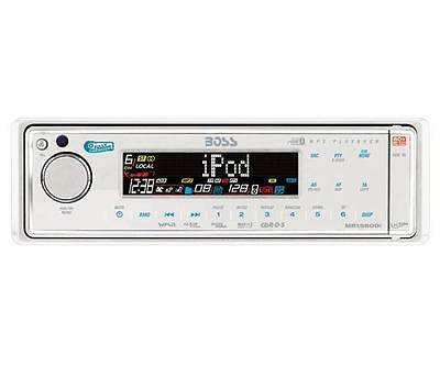 BOSS MR1560DI 320-Watt Marine Head Unit (USB/SD/AUX/iPod)(MR1560DI)