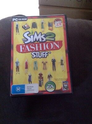 The Sims 2 Fashion Stuff PC CD-ROM Game