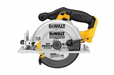 Cordless 20 volt Max Lithium Ion Circular Dewalt Saw 6-1/2 inches (Tool Only)