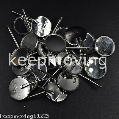50x Dental Orthodontic Stainless Steel Mouth Mirrors Reflector High Quality #4