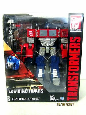 OPTIMUS PRIME Classic Red Transformers Generations Combiner Wars action figure