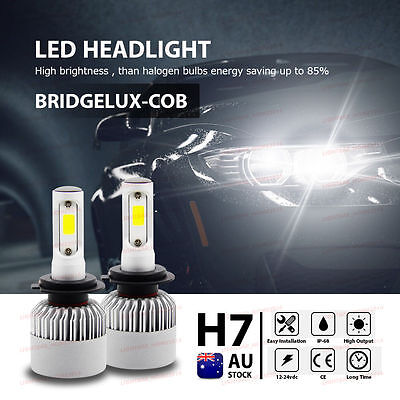H7 160W 20000Lm Led Car Headlight High Low Beam Vehicle Replace Halogen Xenon